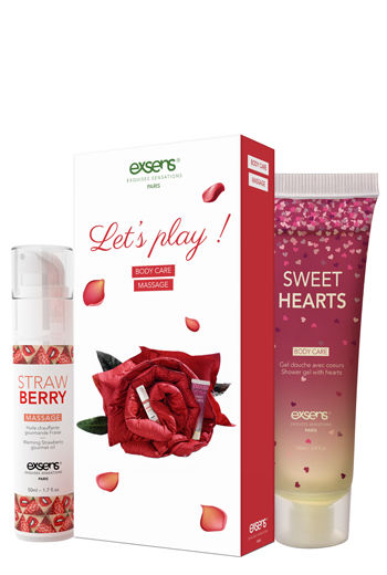 EXSENS Let's Play Kit Sweet Hearts & Strawberry